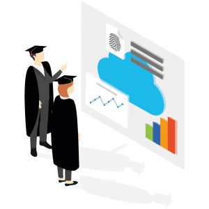 Calligo staff giving expertise on cloud solutions